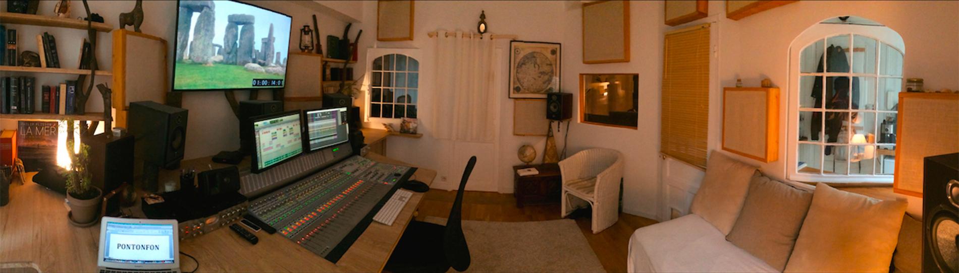 Studio son Paris 12